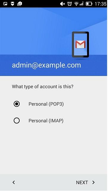 Поштовий сервіс на Android