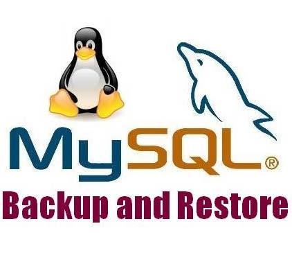 Mysq backup and restore