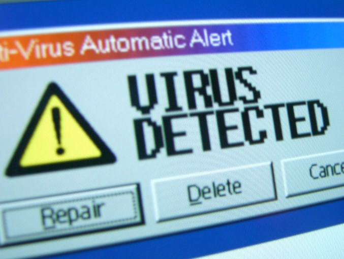 Virus delete